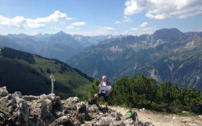 Bergtour im Allgäu