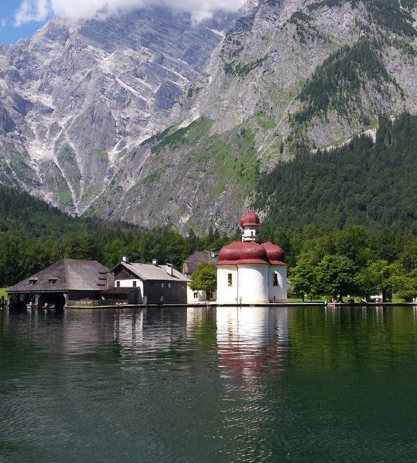 Watzmannmassiv im Berchtesgadener Land