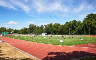 Juli vor vier Jahren: Das erste FC St.-Pauli-Fußball-Camp im Landauer Südpfalz-Stadion