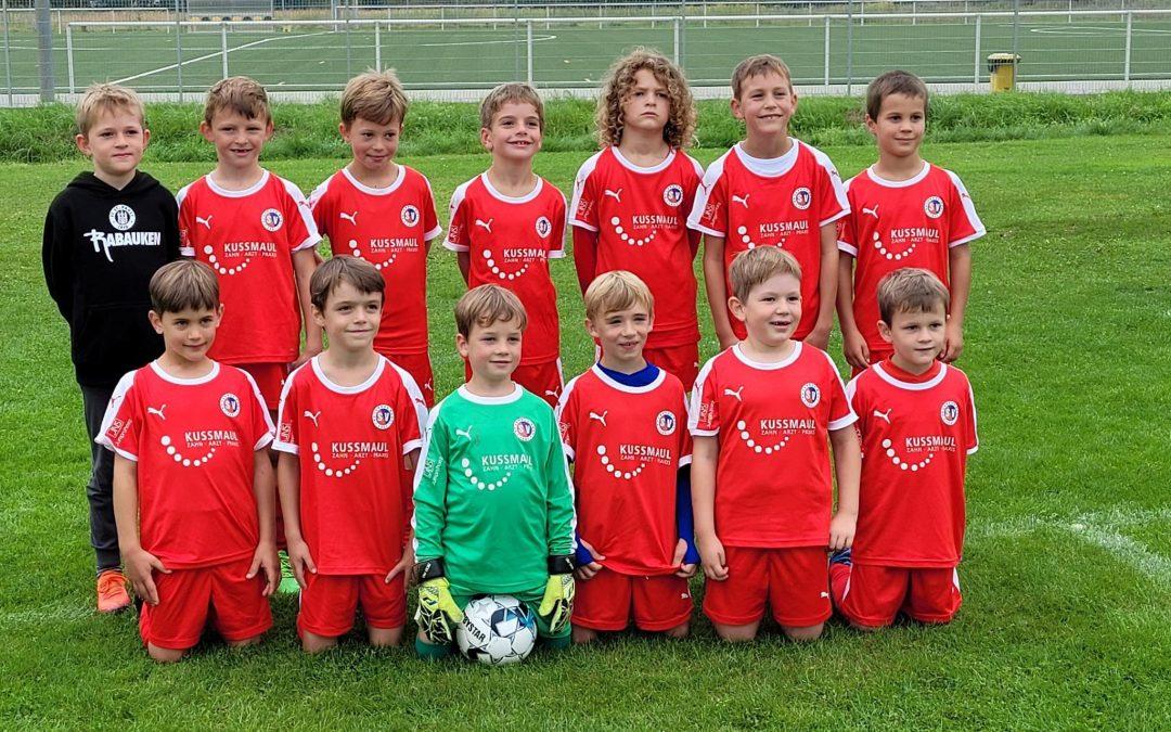 F-Jugend mit viel Spaß und vielen Toren beim Turnier in Knittelsheim